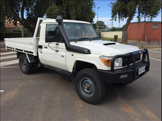 2015 TOYOTA LANDCRUISER WORKMATE (4x4) VDJ79R MY12 UPDATE C/CHAS