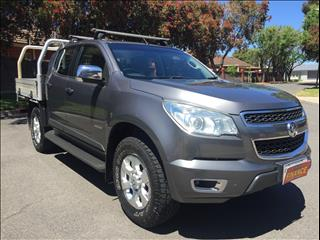 2013 HOLDEN COLORADO LTZ (4x4) RG CREW CAB P/UP
