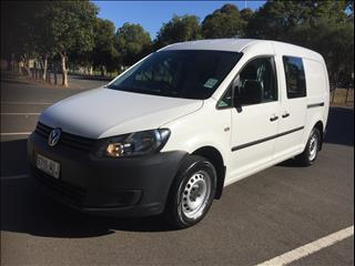 2012 VOLKSWAGEN CADDY MAXI TDI320 4 MOTION 2K MY12 5D VAN