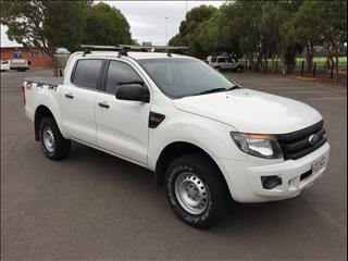 2012 FORD RANGER XL 2.2 (4x4) PX CREW C/CHAS