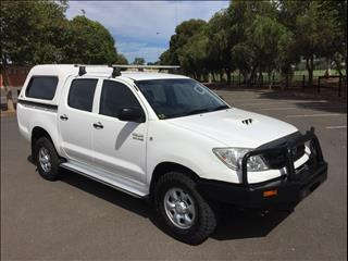 2011 TOYOTA HILUX SR (4x4) KUN26R MY11 UPGRADE DUAL CAB P/UP