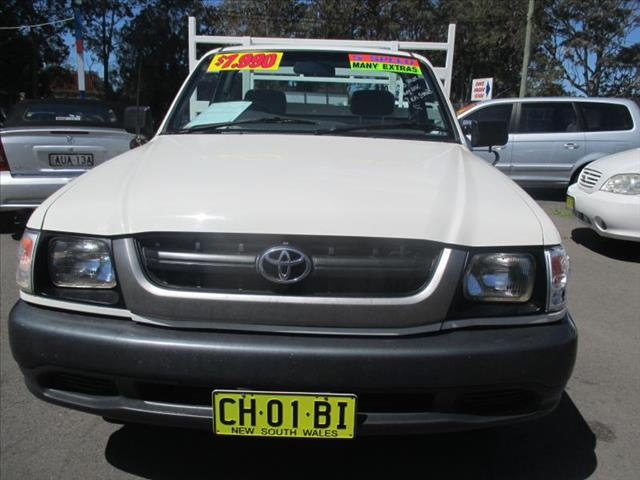 2003  TOYOTA HILUX WORKMATE RZN149R C/CHAS