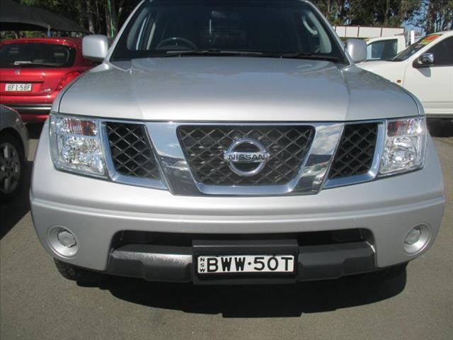 2011  NISSAN NAVARA STX 4X4 D40 DUAL CAB P/UP