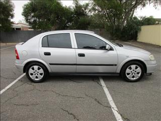 2004 HOLDEN ASTRA CD TS 5D HATCHBACK