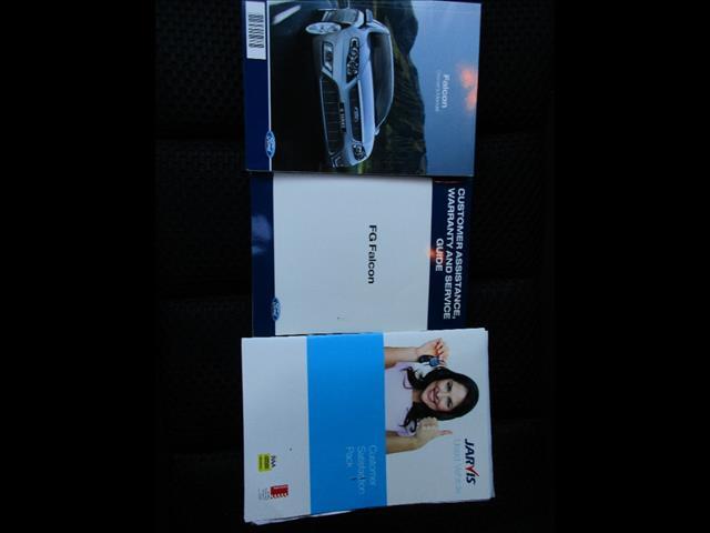 2011 FORD FALCON XR6 FG UPGRADE 4D SEDAN