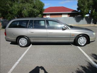 2000 HOLDEN COMMODORE ACCLAIM VTII 4D WAGON