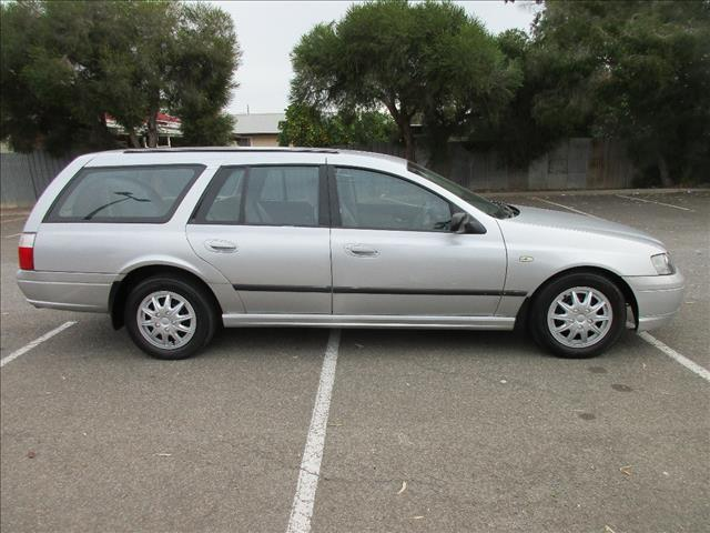 2004 FORD FALCON XT BA 4D WAGON