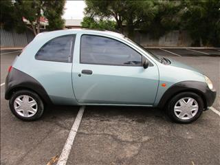 2001 FORD KA 3D HATCHBACK