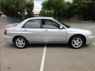 2003 SUBARU IMPREZA RS (AWD) MY04 4D SEDAN