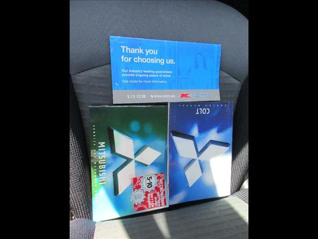 2006 MITSUBISHI COLT LS RG MY06 5D HATCHBACK