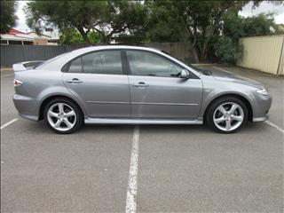 2004 MAZDA MAZDA6 LUXURY SPORTS GG 5D HATCHBACK