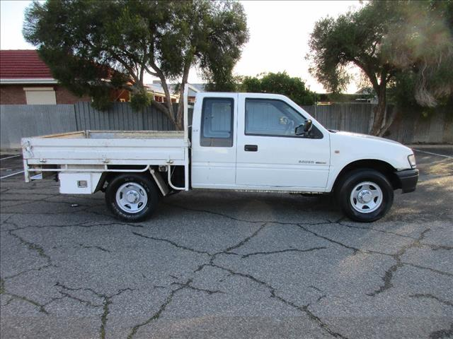 2003 HOLDEN RODEO LX TFR9 MY02 SPACE CAB P/UP