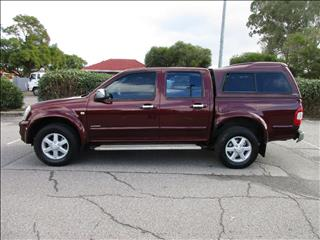 2005 HOLDEN RODEO LT RA CREW CAB P/UP