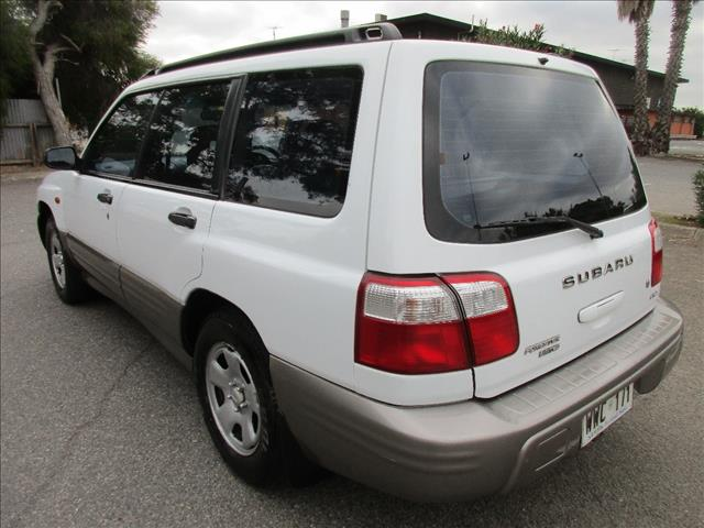 2002 SUBARU FORESTER LIMITED MY02 4D WAGON