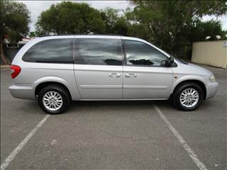 2004 CHRYSLER GRAND VOYAGER LIMITED RG 05 UPGRADE 4D WAGON