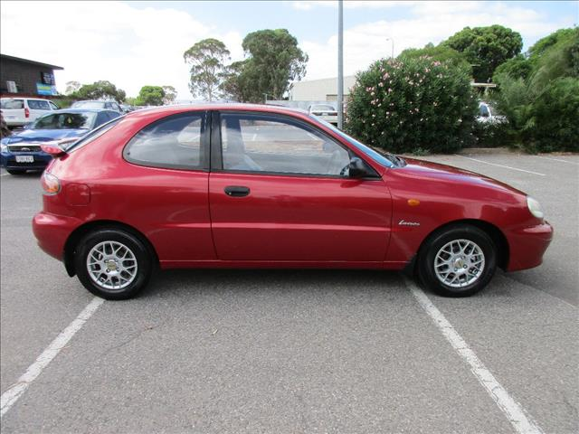 2002 DAEWOO LANOS SE LIMITED EDITION 3D HATCHBACK