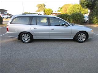 2003 HOLDEN COMMODORE SILVER ANNIVERSARY VYII 4D WAGON