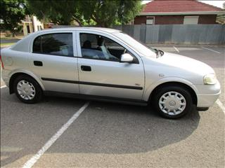 2002 HOLDEN ASTRA CITY TS 5D HATCHBACK