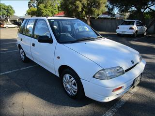 1997 SUZUKI SWIFT CINO 5D HATCHBACK