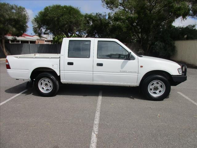 1999 HOLDEN RODEO LX (4x4) TFG6 CREW CAB P/UP