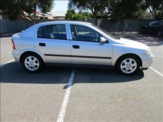 2002 HOLDEN ASTRA CD TS 5D HATCHBACK