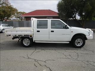 2000 HOLDEN RODEO LX (4x4) TFG6 CREW CAB P/UP
