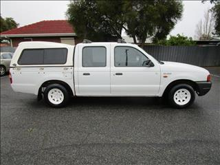 2000 FORD COURIER GL PE CREW CAB P/UP
