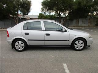 2003 HOLDEN ASTRA CD TS 5D HATCHBACK