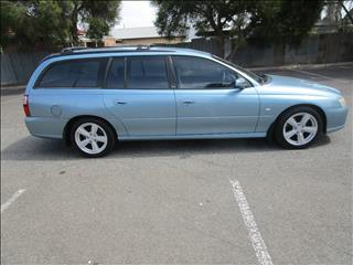 2006 HOLDEN COMMODORE ACCLAIM VZ MY06 UPGRADE 4D WAGON