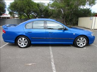 2005 FORD FALCON SR BA MKII 4D SEDAN