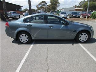 2007 HOLDEN COMMODORE OMEGA (D/FUEL) VE MY08 4D SEDAN