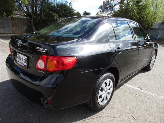2009 TOYOTA COROLLA ASCENT ZRE152R MY09 4D SEDAN