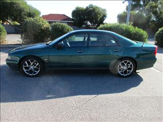 2002 MITSUBISHI MAGNA EXECUTIVE TJ 4D SEDAN