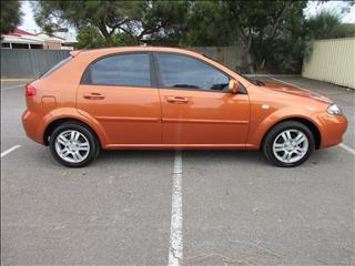 2007 HOLDEN VIVA JF MY07 5D HATCHBACK