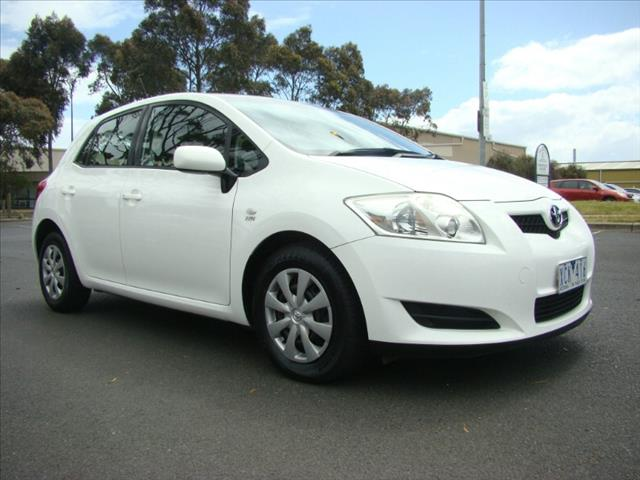 2007  TOYOTA COROLLA ASCENT ZRE152R HATCHBACK