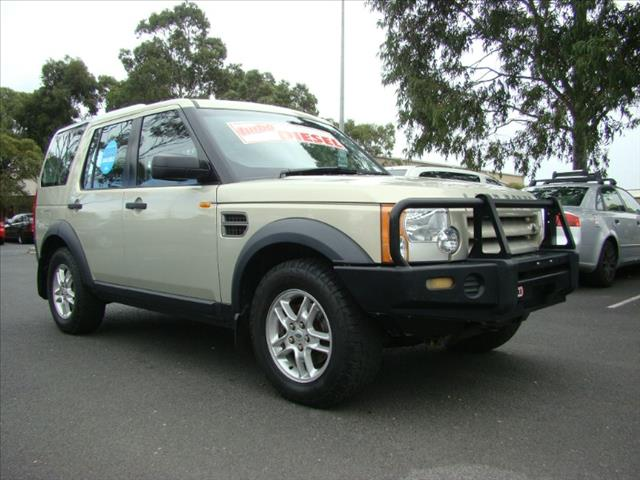 2006  LAND ROVER DISCOVERY 3 S  WAGON