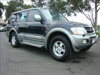 2002  MITSUBISHI PAJERO EXCEED NM MY2002 WAGON