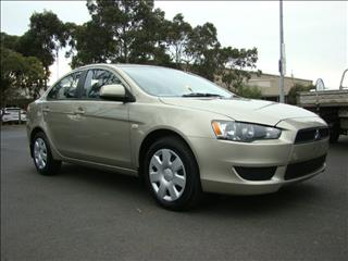 2007  MITSUBISHI LANCER ES CJ MY08 SEDAN