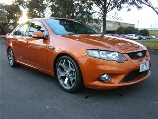 2010  FORD FALCON XR6 50TH ANNIVERSARY FG SEDAN