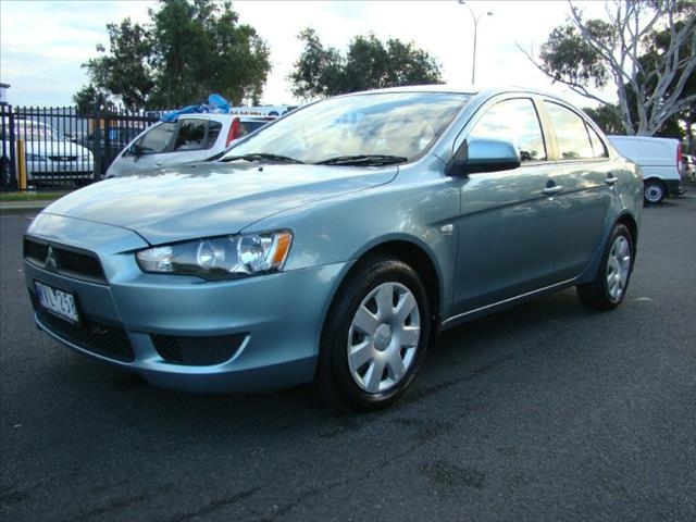 2008  MITSUBISHI LANCER ES CJ MY08 SEDAN
