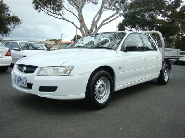 2007  HOLDEN CREWMAN  VZ MY06 UTILITY
