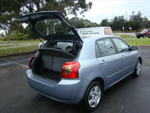 2004  TOYOTA COROLLA CONQUEST ZZE122R 5Y HATCHBACK