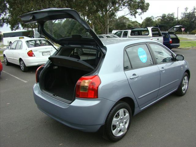 2002  TOYOTA COROLLA CONQUEST ZZE122R HATCHBACK