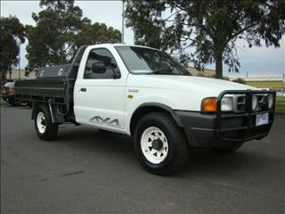 2002  FORD COURIER XL SUPER CAB PE UTILITY