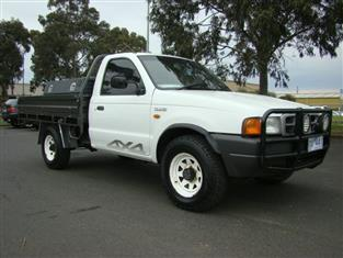 2002  FORD COURIER XL SUPER CAB PE UTILITY