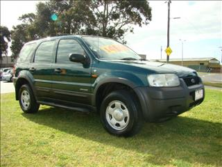 2002  FORD ESCAPE XLS BA WAGON