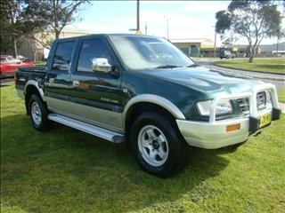 2001  HOLDEN RODEO LT DUAL CAB TF MY01 UTILITY