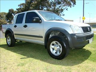 2003  HOLDEN RODEO LX Crew Cab RA UTILITY