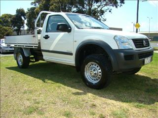 2005  HOLDEN RODEO LX RA MY05 CAB CHASSIS
