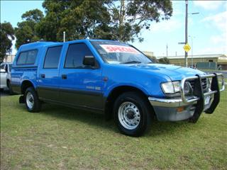 1997  HOLDEN RODEO LT Crew Cab R7 UTILITY